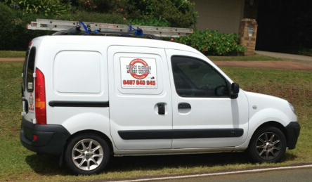 Gold Coast Carpet Cleaning Van